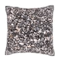 Pile Of Pebbles 18-inch Velour Throw Pillow