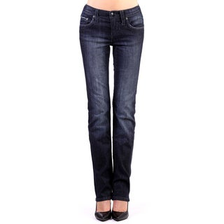 Stitch's Women's Chic Slimming Denim Low Waist Jeans