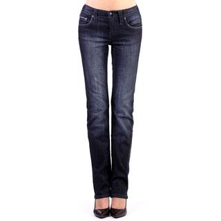 Stitch's Women's Chic Slimming Denim Low Waist Jeans
