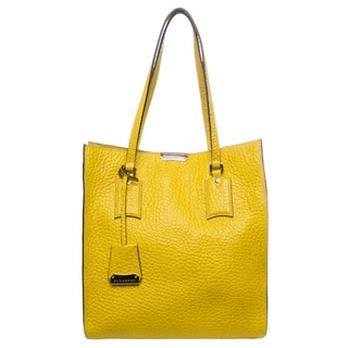 Burberry Medium Heritage Grain Leather Tote