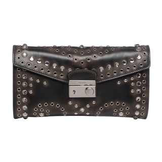 Prada Vintage Leather Clutch