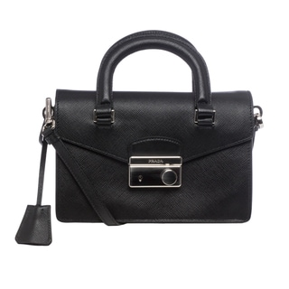 Prada Saffiano Leather Mini Bag