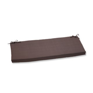 Pillow Perfect Outdoor Brown Bench Cushion
