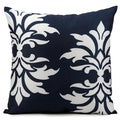 Nourison 'Mina Victory' 20-inch Navy Indoor/ Outdoor Throw Pillow