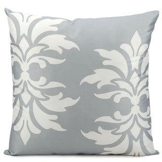 Nourison 'Mina Victory' 20-inch Grey Indoor/ Outdoor Throw Pillow