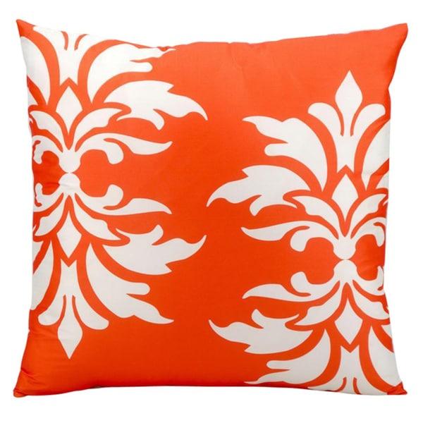 Nourison 'Mina Victory' 20-inch Orange Indoor/ Outdoor Throw PIllow