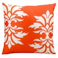 Nourison 'Mina Victory' 20-inch Orange Indoor/ Outdoor Throw PIllow