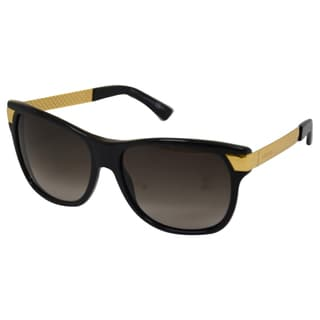 Gucci Women's GG 3611/S N3BHA Black/Yellow/Gold 57-16-130 mm Sunglasses