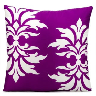 Nourision 'Mina Victory' 20-inch Lilac Indoor/ Outdoor Throw Pillow