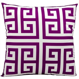 Mina Victory Indoor/ Outdoor Lilac 20-inch Throw Pillow