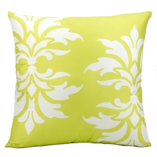 Mina Victory Indoor/ Outdoor Lime 20-inch Throw Pillow