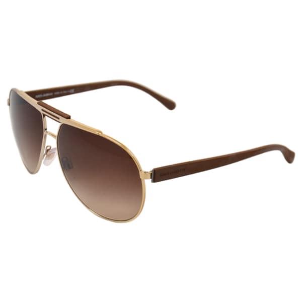 Dolce & Gabbana Women's 'DG 2119 1190/13' Aviator Sunglasses