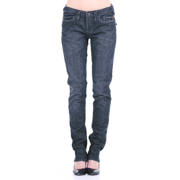 Stitch's Women's Regular Denim Straight Leg Jeans
