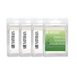 Spring and Summer Collection - 6-piece Tart Burner Soy Wax Melts (Set of 4)