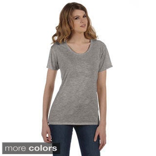 Alternative Women's 'Kimber' Burnout Scoop Neck T-shirt