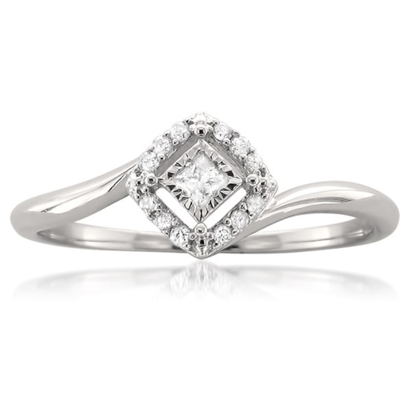 princess cut promise rings deals on 1001 blocks