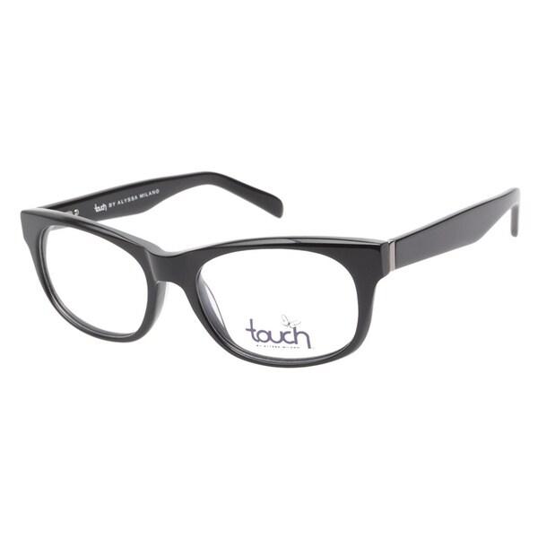 Touch by Alyssa Milano 109 Black Prescription Eyeglasses