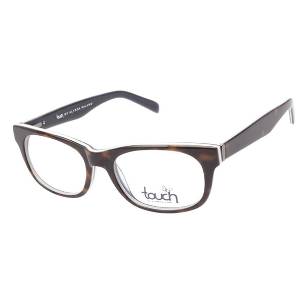 Touch by Alyssa Milano 109 Demi White Prescription Eyeglasses