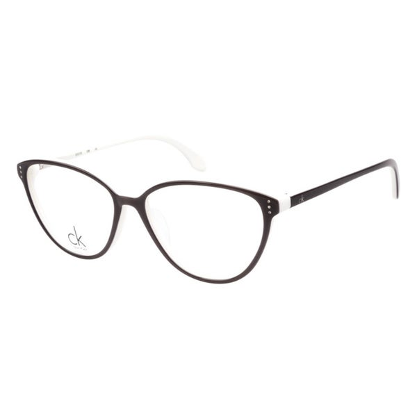 Calvin Klein 5719 961 Black White Prescription Eyeglasses