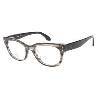 Calvin Klein 5727 275 Grey Horn Prescription Eyeglasses