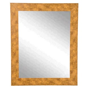 USA Made Rayne Marbled Gold Wall Mirror