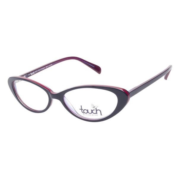 Touch by Alyssa Milano 112 Navy Prescription Eyeglasses