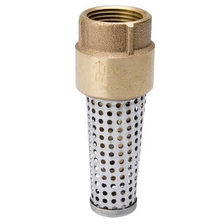 Brass 2-inch Foot Valve