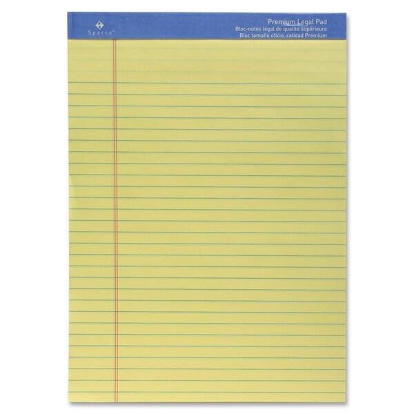 Sparco Premium Grade Perforated Legal Ruled Pad