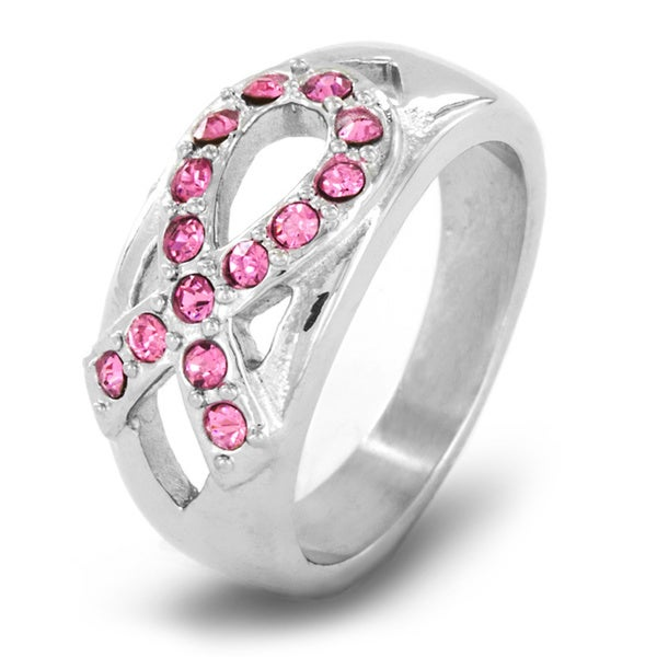 Stainless Steel Pink Crystal Breast Cancer Awareness. Rock Crystal Engagement Rings. Spiral Band Wedding Rings. Secret Wood Engagement Rings. Anglo Saxon Engagement Rings. 12 Inch Rings. Dainty Engagement Rings. Budget Engagement Rings. 92.5 Wedding Rings