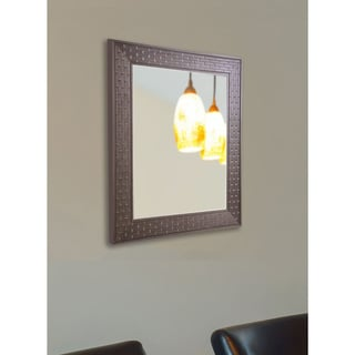 USA Made Rayne Coffee Crate Wall Mirror