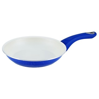 Farberware New Traditions Speckled Aluminum Nonstick 8.5-inch Blue Skillet