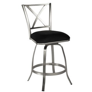 Brushed Nickel Bar Stools Overstock Shopping The Best