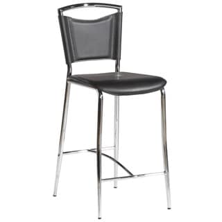 Black Bar Height Stool (Set of 4)