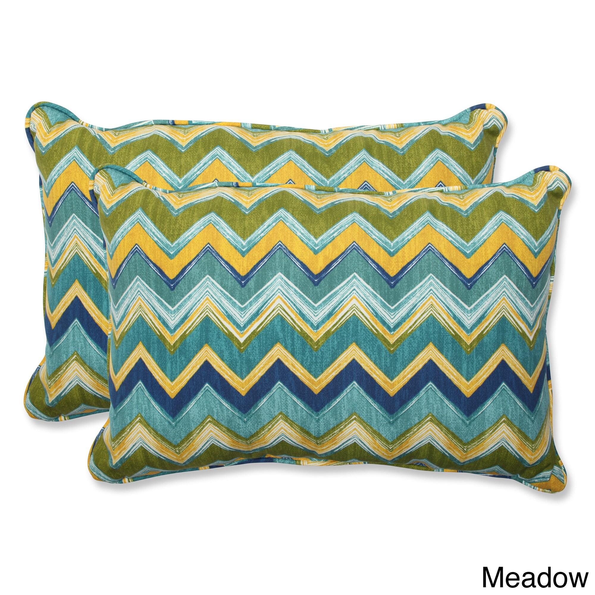 Pillow Perfect Outdoor Tamarama Over-sized Rectangular Throw Pillow (Set of 2) at Sears.com