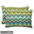 Pillow Perfect Outdoor Tamarama Over-sized Rectangular Throw Pillow (Set of 2)