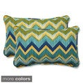 Pillow Perfect Outdoor Tamarama Rectangular Throw Pillow (Set of 2)
