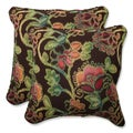 Pillow Perfect 18.5-inch Throw Pillow with Sunbrella Vagabond Paradise Fabric (Set of 2)