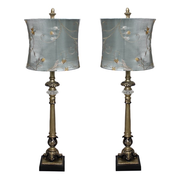 casa cortes 39 parisian buffet 39 hand crafted table lamp set of 2. Black Bedroom Furniture Sets. Home Design Ideas