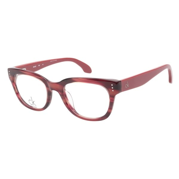 Calvin Klein 5727 747 Marble Red Prescription Eyeglasses