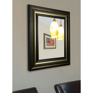 American Made Rayne Stepped Vintage Wall Mirror