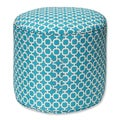 Hockley Teal Weather Resistant Bean Bag Ottoman