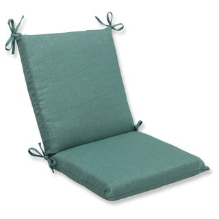 Pillow Perfect Outdoor Green Squared Corners Chair Cushion