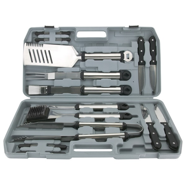 18-piece Grilling Tool Set with Case