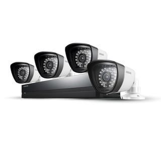 Samsung 4 Camera, 8 Channel DVR Security System