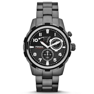 Fossil Men's 'Dean' Smoked Steel Automatic Watch