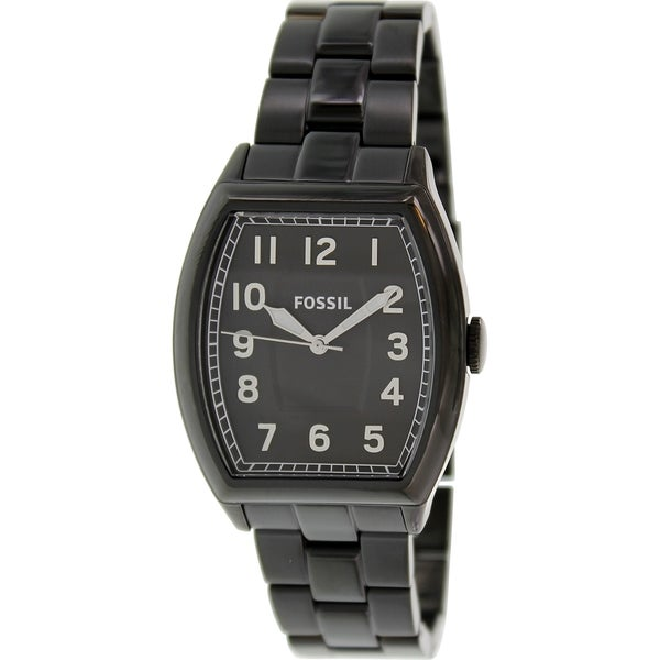 Fossil Men's 'Narrator' Black Analog Watch