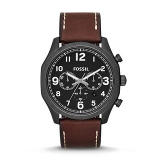 Fossil Men's FS4887 'Foreman' Brown Chronograph Watch