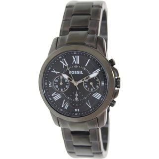 Fossil Men's 'Grant' Stainless Steel Chronograph Watch