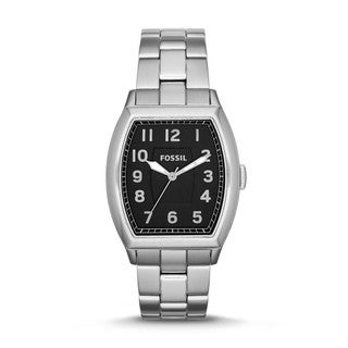 Fossil Men's 'Narrator' Stainless Steel Analog Watch