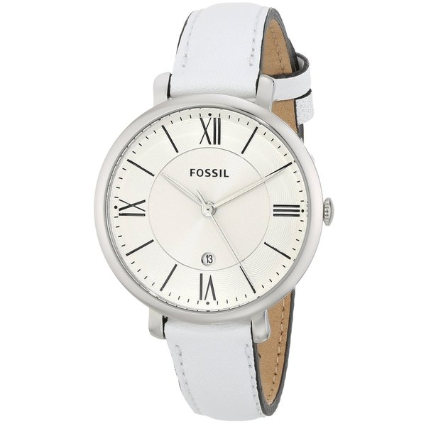 Fossil Women's 'Jacqueline' White Analog Watch